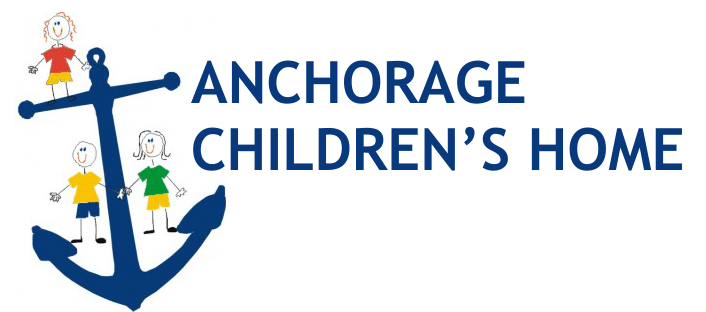 Anchorage children's home text logo