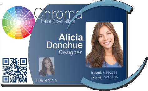 Designer ID card