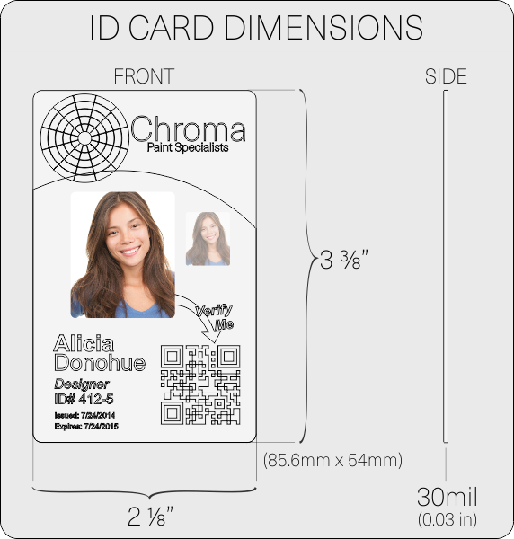 id card layout and artwork guidelines instantcard