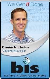floating photo on ID card