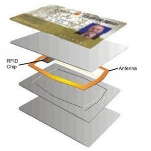id card with rfid