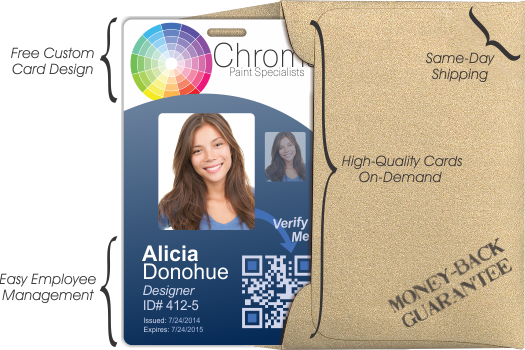 High-Quality ID Badges On-Demand