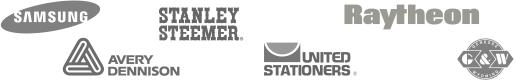 samsung | stanley steemer | Raytheon