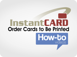 Order Cards to Be Printed