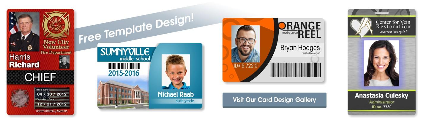 ID card & Badge Samples