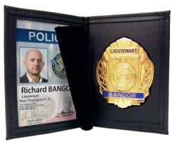 Police Badge & ID Card