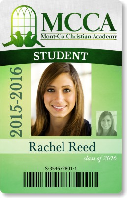 Scool Student ID Card