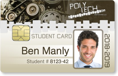 ID card with smart chip technology