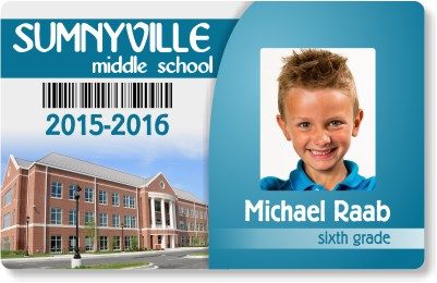 Middle School ID Badge