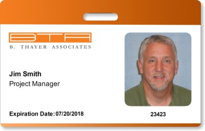 BTA ID card project manager