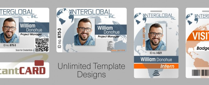 Unlimited ID Badge Template Design