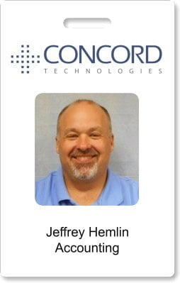 concord technologies ID card