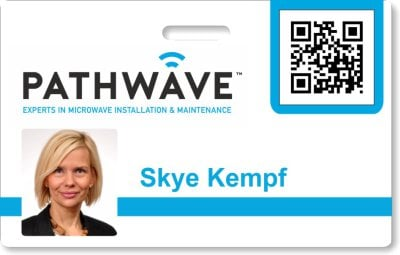 Pathwave ID Badge