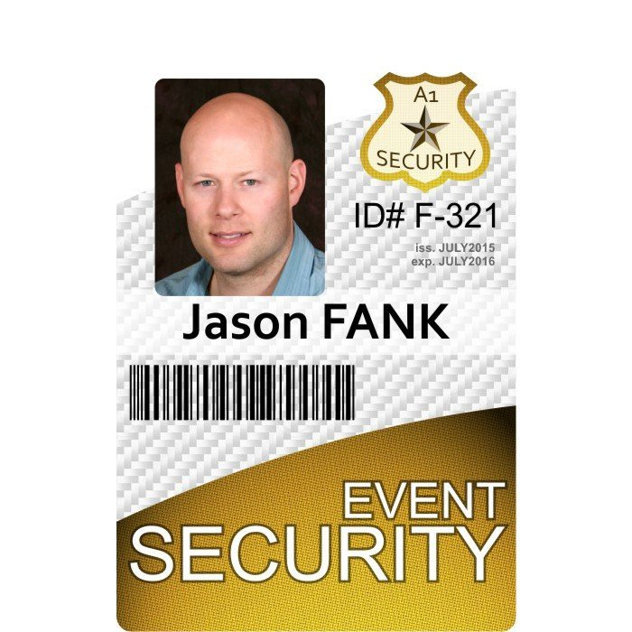 event security id card