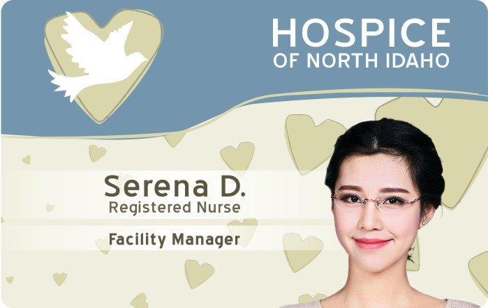 Hospice NI Nurse ID Card