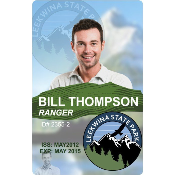 government Ranger ID Card