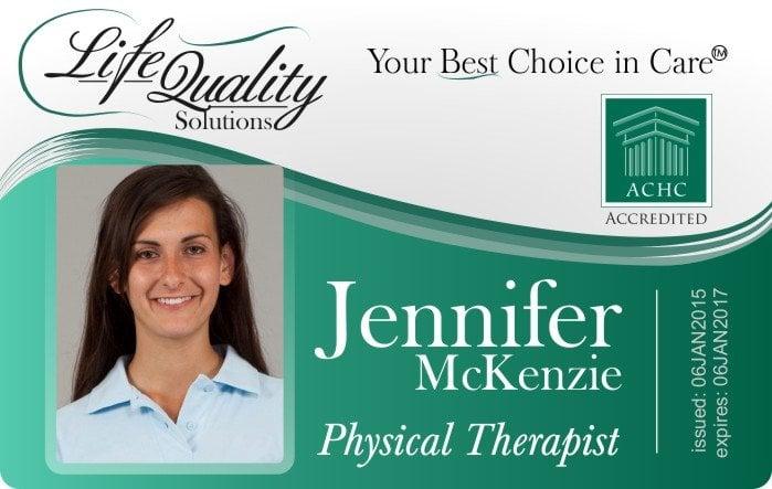 Life Quality Medical ID Badge