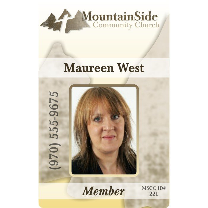 Mountainside Community Church Member ID