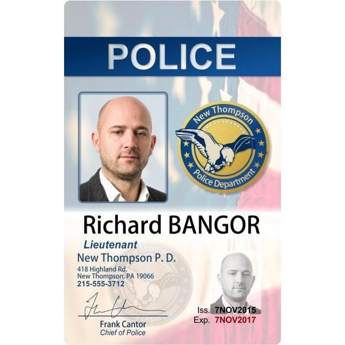 police photo id