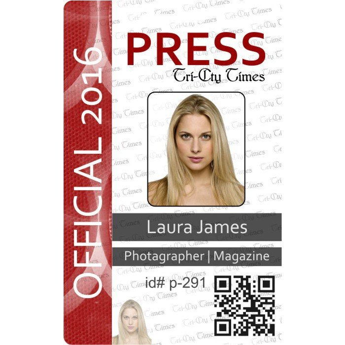 press photo id