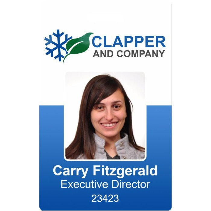 Clapper Company ID Bage