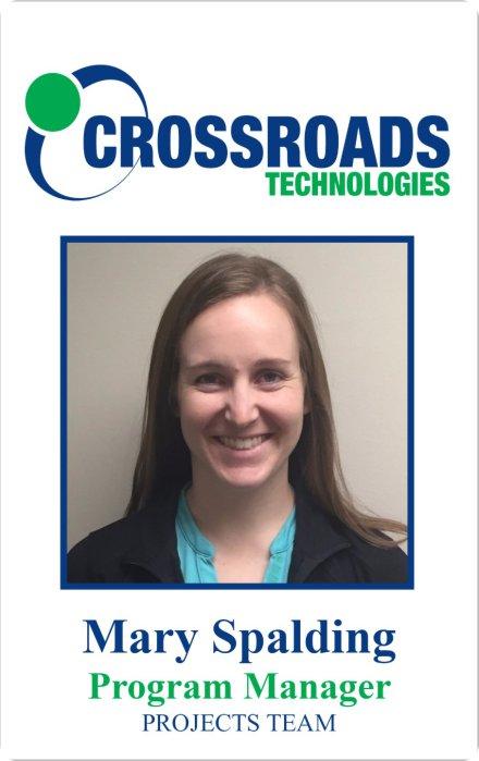 Crossroads Technologies ID Badge