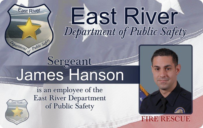 East River Police ID Card