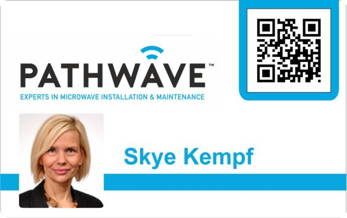 Pathwave Employee ID Badge