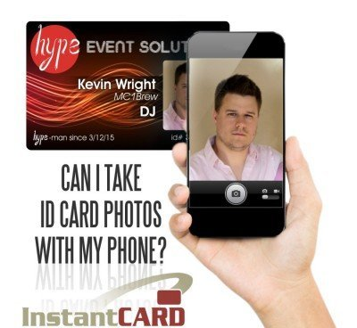 Can I Take ID Card Photos with My Phone