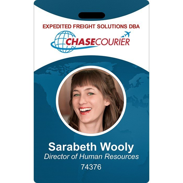 id cards for chasecourier
