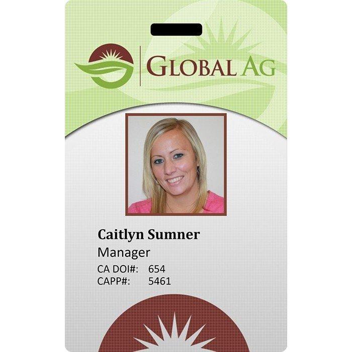 global AG ID badge