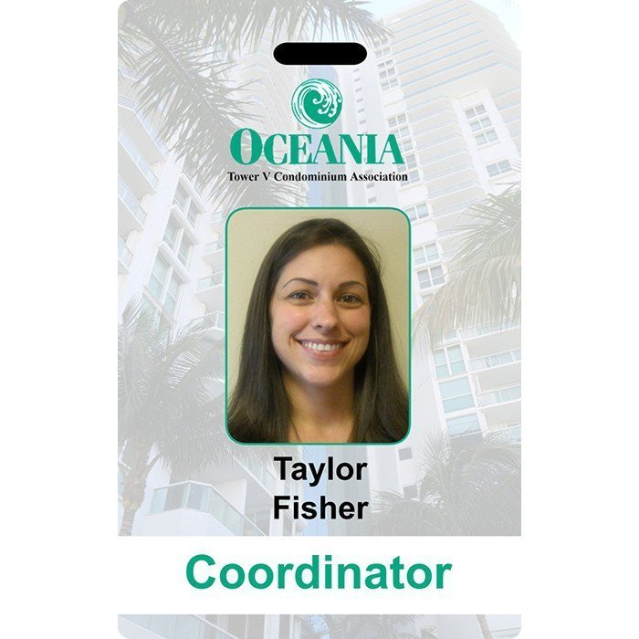 Oceania Employee ID Cards