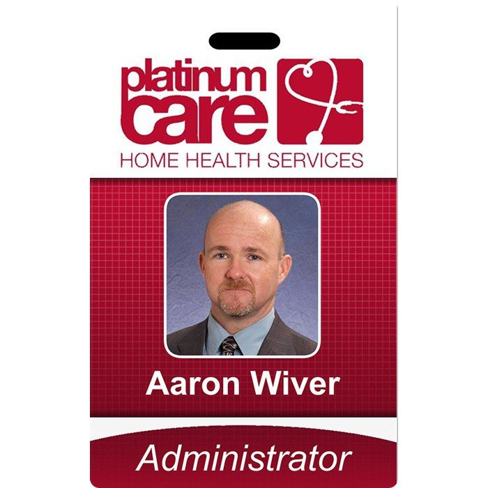 Platinum Care Photo ID Card
