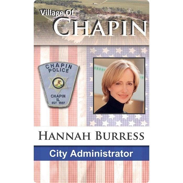 Chapin Police ID Card