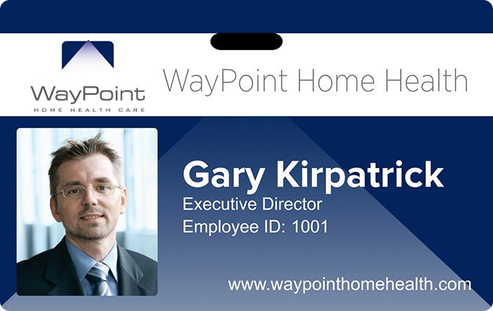 WayPoint Health ID Card Design
