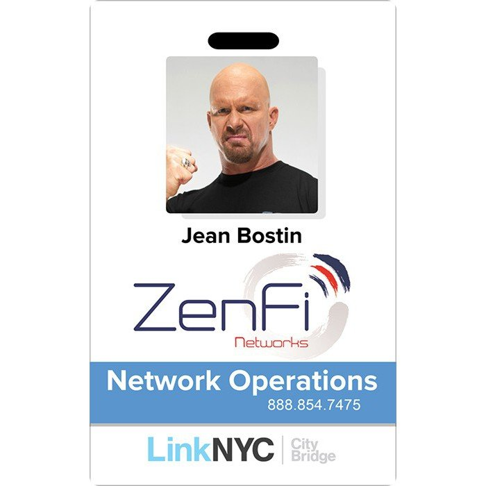 ZenFi Employee ID Badge