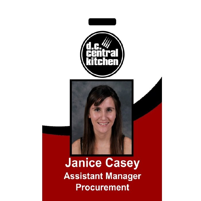 DC Central Kitchen ID Badge