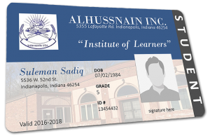 student example id card