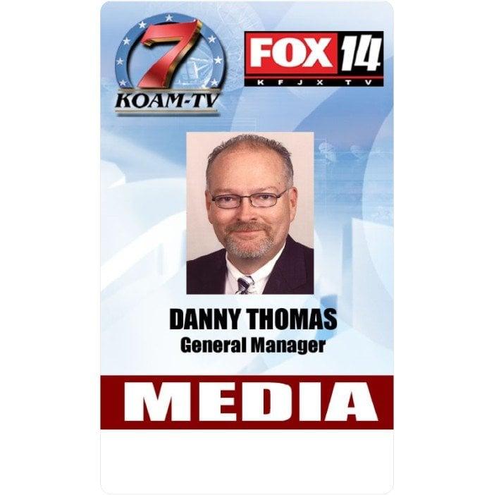 FOX 14 media Id card