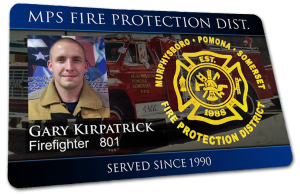 example fire photo id badge