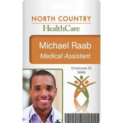 health care id card badge