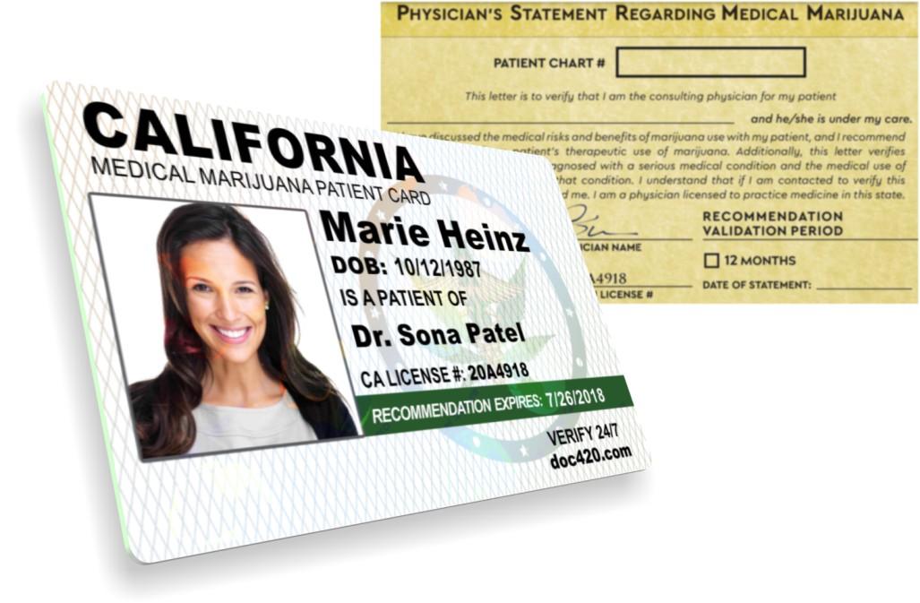 California MMJ Card Dr. Sonya Patel