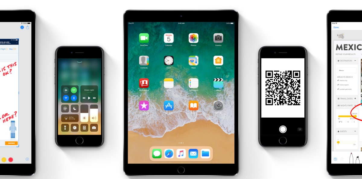 iOS 11 devices and QR codes