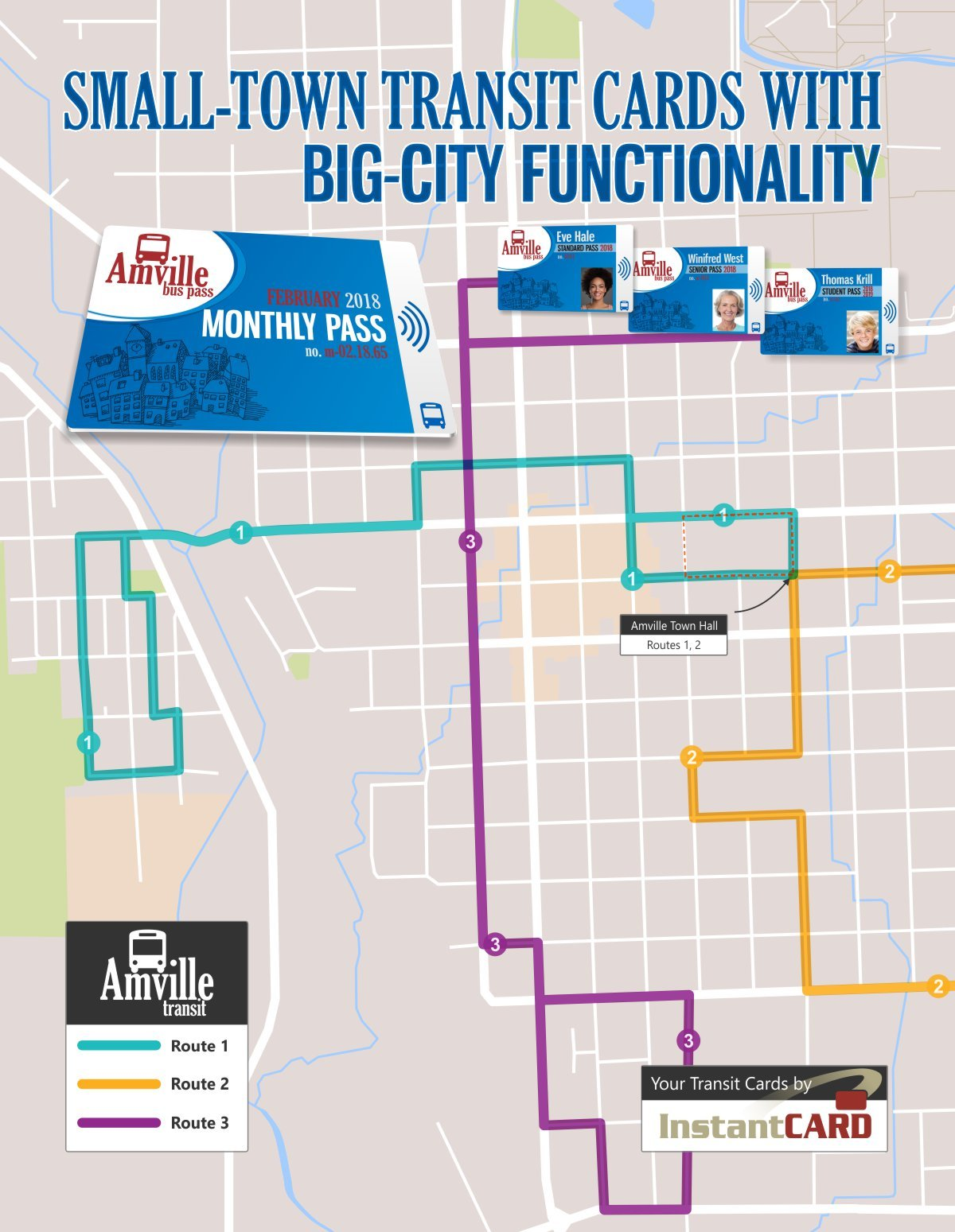 Small-Town Transit Cards with Big-City Functionality