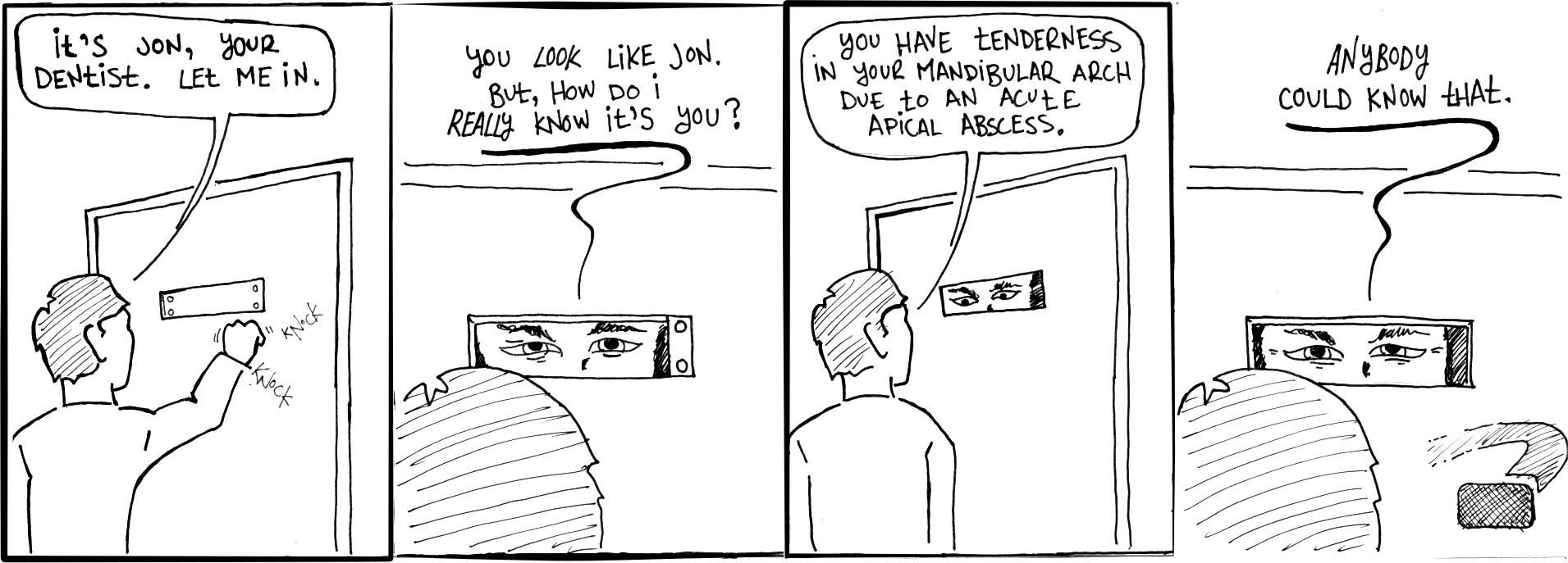 Multi-factor Authentication comic
