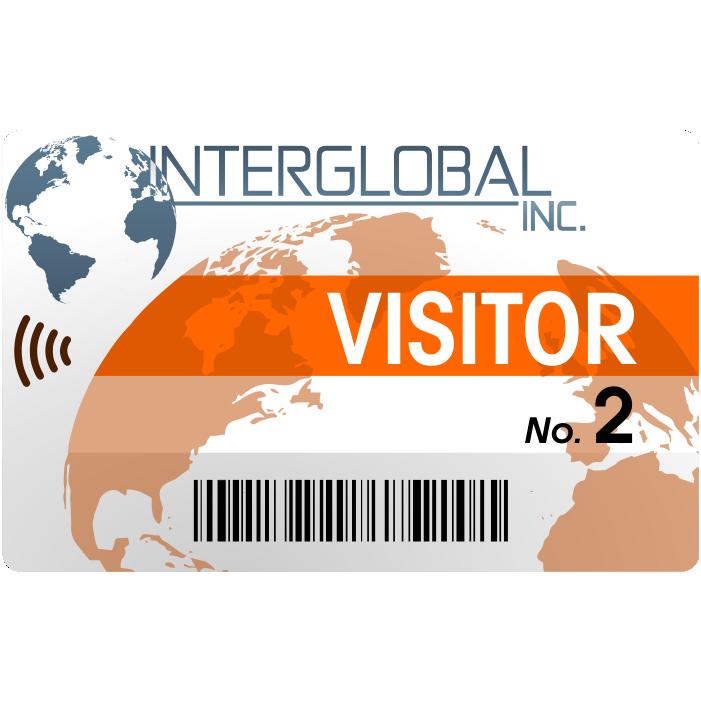 advanced visitor badge