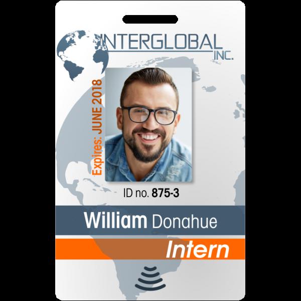 intern employee id instantcard