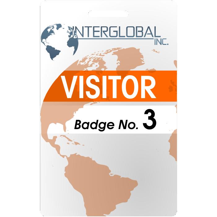 visitor id badge