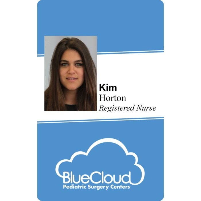 Blue Cloud ID Badge
