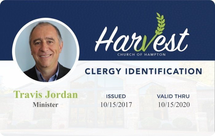Harvest church photo ID